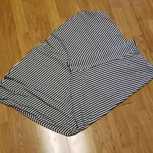 Gap striped knit Maxi skirt sz large